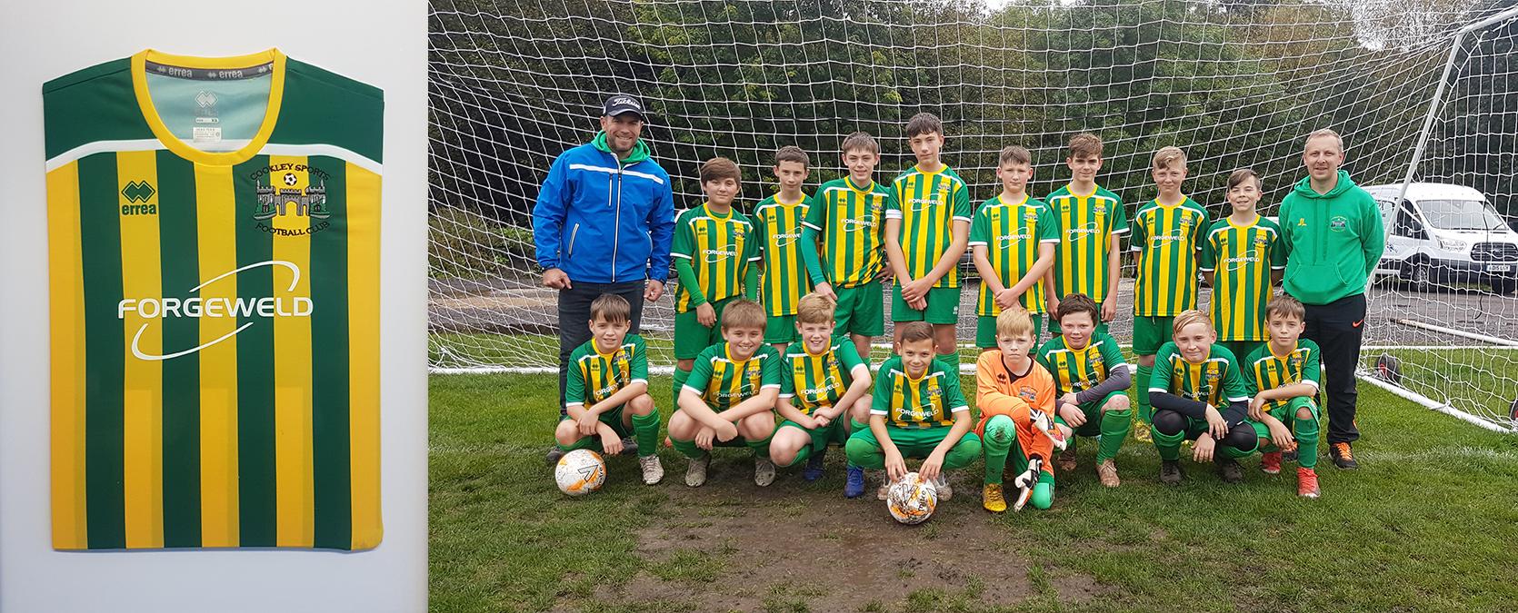 cookley football team